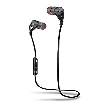 BANNAB Bluetooth Auriculares Impermeable Deportes Auriculares inalámbricos con micrófono, 6 Horas de Tiempo de Juego