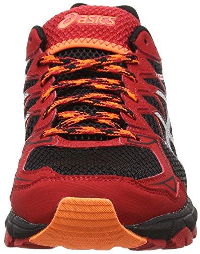 ASICS - Gel-fujitrabuco 4, Zapatillas de Running hombre Rojo (racing Red/silver/black 2393)