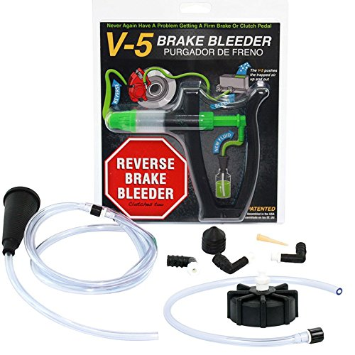 Phoenix Systems 2104-EURO V-5 European Reverse and Pressure Brake Bleeder (light duty) - Euro Light System