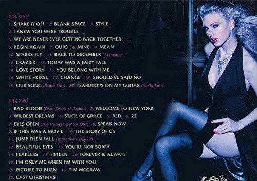 Taylor Swift Greatest Hits 2cd Set In Digipak Amazon Com Music