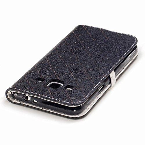 Yiizy Samsung Galaxy J3 (2016) / J320F / J320A / J320P Funda, Amar Diseño Solapa Flip Billetera Carcasa Tapa Estuches Premium PU Cuero Cover Cáscara Bumper Protector Slim Piel Shell Case Stand Ranura
