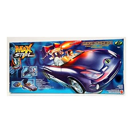 MATTEL Auto-Max Steel Turbo araña MX48 21836 Juegos y Juguetes: Amazon.es: Juguetes y juegos
