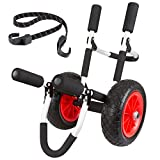 Apex – SUP Dolly – Paddle Board Dolly – APX-DLY – Wide Pneumatic Tires – Rust-Resistant – High-Strength Aluminum Construction – Foam Bumpers – One-Year Warranty