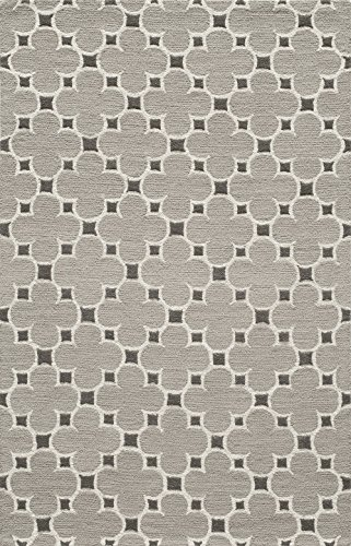 Momeni Rugs  Dunes Collection, Hand Tufted 100% Wool Transitional Area Rug, 2' x 3', Taupe