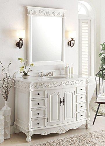 Sink Antique Bathroom Vanity - 7