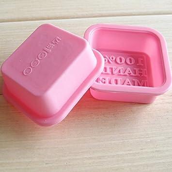 Hergon - Molde de Silicona para jabón, Molde de Horno para Dulces y Pasteles de