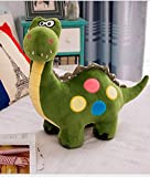 Dalino Soft Stuffed Toys Stuffed 30cm Dinosaur Plush Stuffed Animal Toy for Baby Gifts Kid Birthday Party Gift(Amry Green)