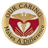 PinMart's Our Caring Makes a Difference Nurse Lapel Pin