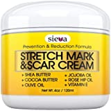 Stretch Marks & Scars Cream – Best for Stretch Mark Removal - Body Moisturizer for Prevention and Reduction of Old & New Scars - Natural & Organic for Pregnancy, After Birth, Women, & Men