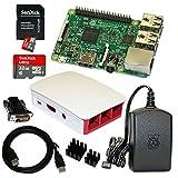 Raspberry Pi 3 Model B Bundle / Starter Set mit Zubehör 32 GB