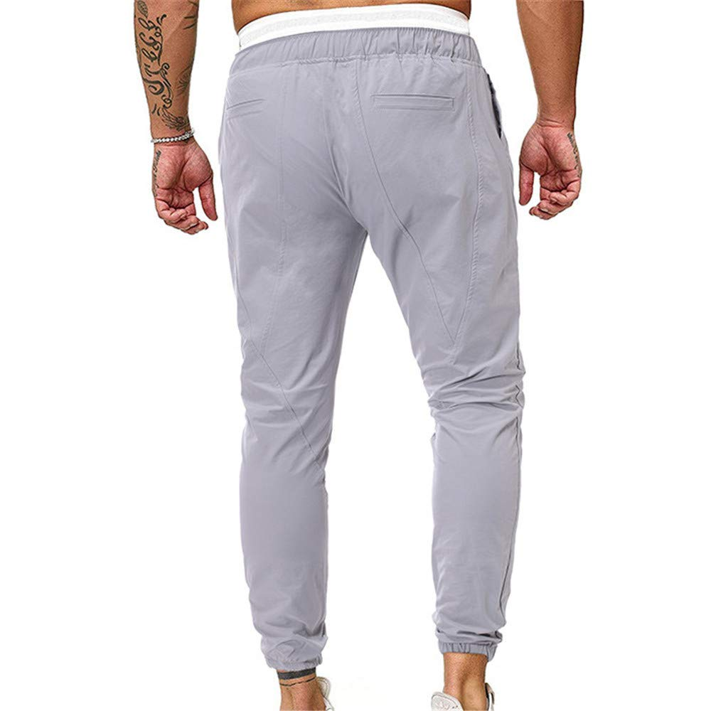 Fansu Casual Skinny Pantalones Largos Deportivos De Jogging ...