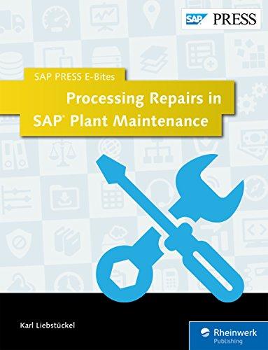 Обработка ремонтных работ в системе технического обслуживания SAP