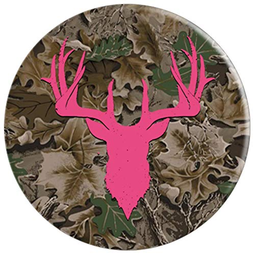 Camo Pink Deer Hunting Pop Socket - Camouflage Whitetail - PopSockets Grip and Stand for Phones and Tablets