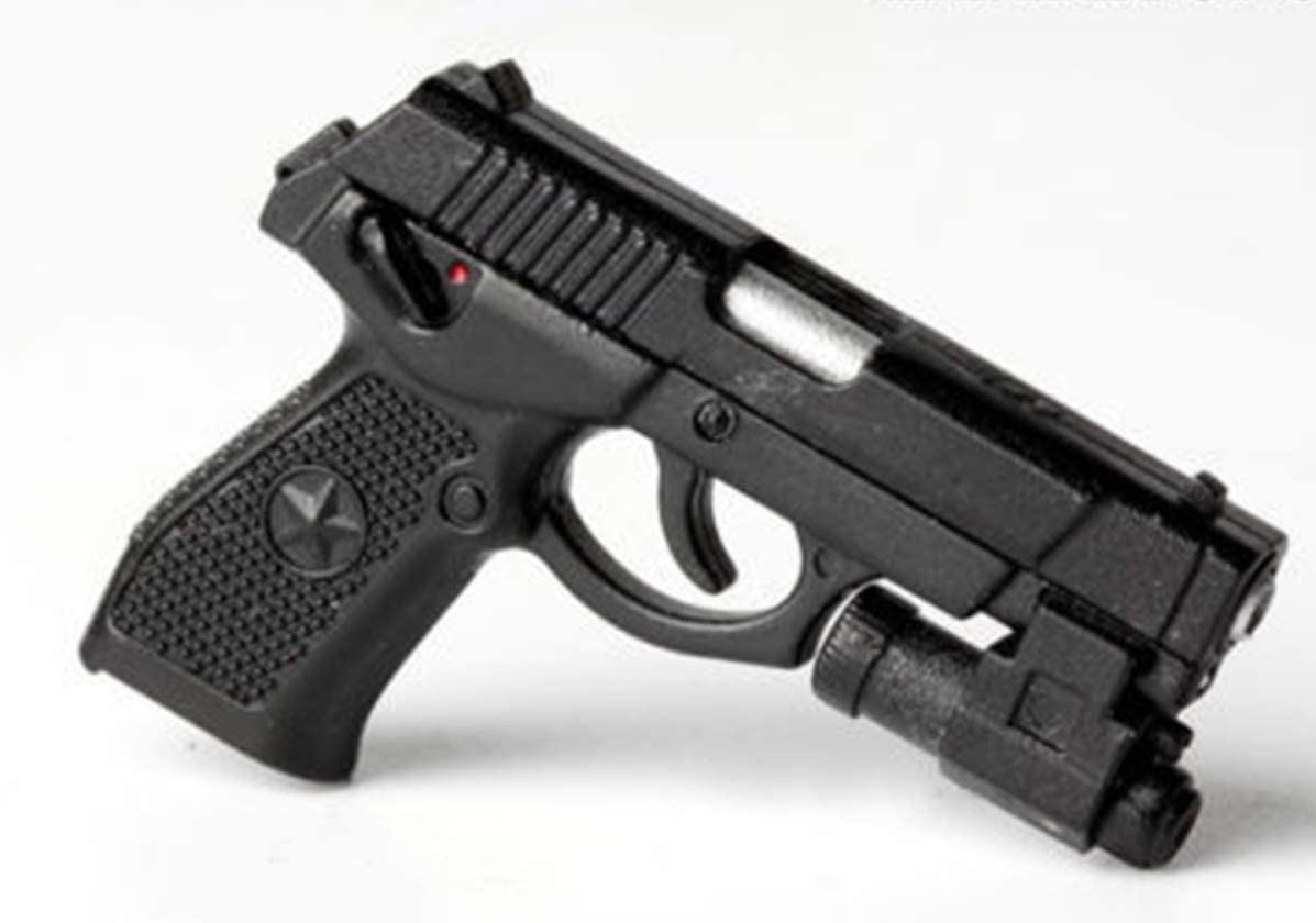 tytlmask Modelo De Arma 1/6 Qsz92 Pistola Semiautomática Modelo De Rifle Pistola De Plástico Juguetes Soldado Modelo De Arma Figura De Acción Regalos