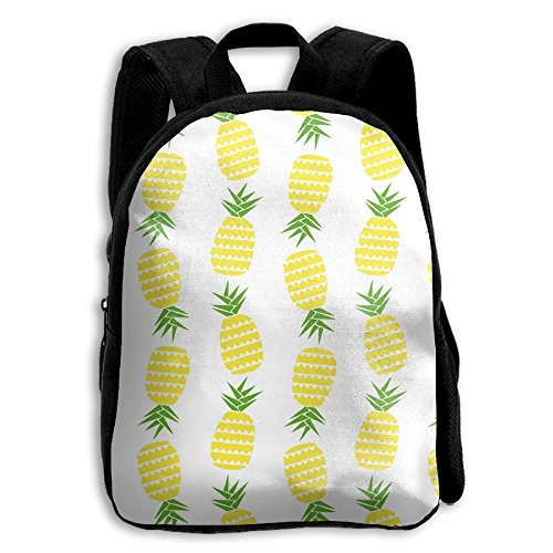 School Season Kids Shoulder Bag Toddler Bookbag Rucksack Child Pineapple Yellow Backpack Handbags - Working Sunglasses Class