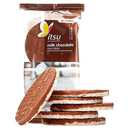 Itsu chocolate con leche pasteles de arroz 100g: Amazon.es: Alimentación y bebidas