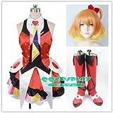 コスプレ衣装+ウイッグ+靴 ラブライブ! マクロスΔ フレイア・ヴィオン cosplay