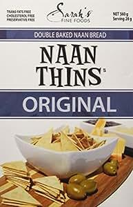 SARAH'S Naan Thins, 560 Gram