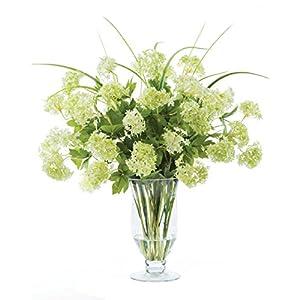 Snowball Hydrangeas Silk Flower Arrangement 45