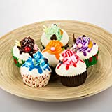 Fake Cupcake 6pack Simulation Sprinkle Artificial Food Cake Kitchen Toy Decoration, Randam Color