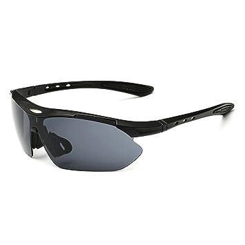 Unisexe polarisées Sports Lunettes de soleil, Witery protection UV Homme Femme  Cyclisme Course à Pied d08524b0aea2