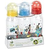 Disney Mickey Mouse Bottle Set, 3-Pack
