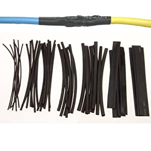 51r9Ar2Ym%2BL._SY300_ anytime tools 48 pc heat shrink tubing wrap sleeves assorted sizes Large Heat Shrink Wrap at gsmx.co