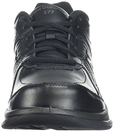New Balance Uomo MW577 Walking Shoe, Nero (Black), 42