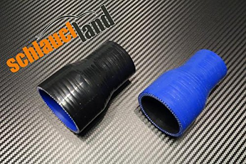Silikon-Reduzierst/ück ID 41-25mm schwarz*** Silikonschlauch Reduzierer Silikon Reduzierung LLK