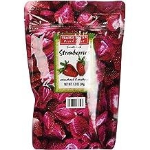 Trader Joe's Freeze Dried Strawberries Unsweetened & Unsulfured, 1.2 oz (34g), 1 Bag