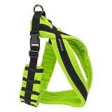 EEZWALKER Fleece Dog Harness (XX-Large, Lime)