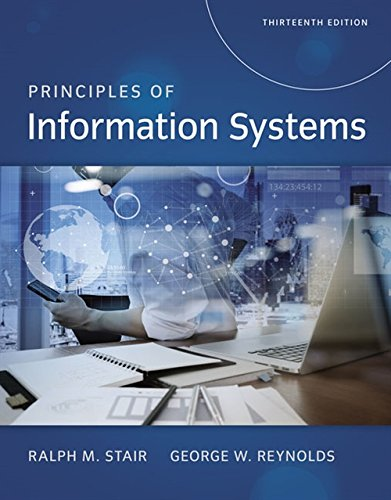 Principles of Information Systems (MindTap Course List)