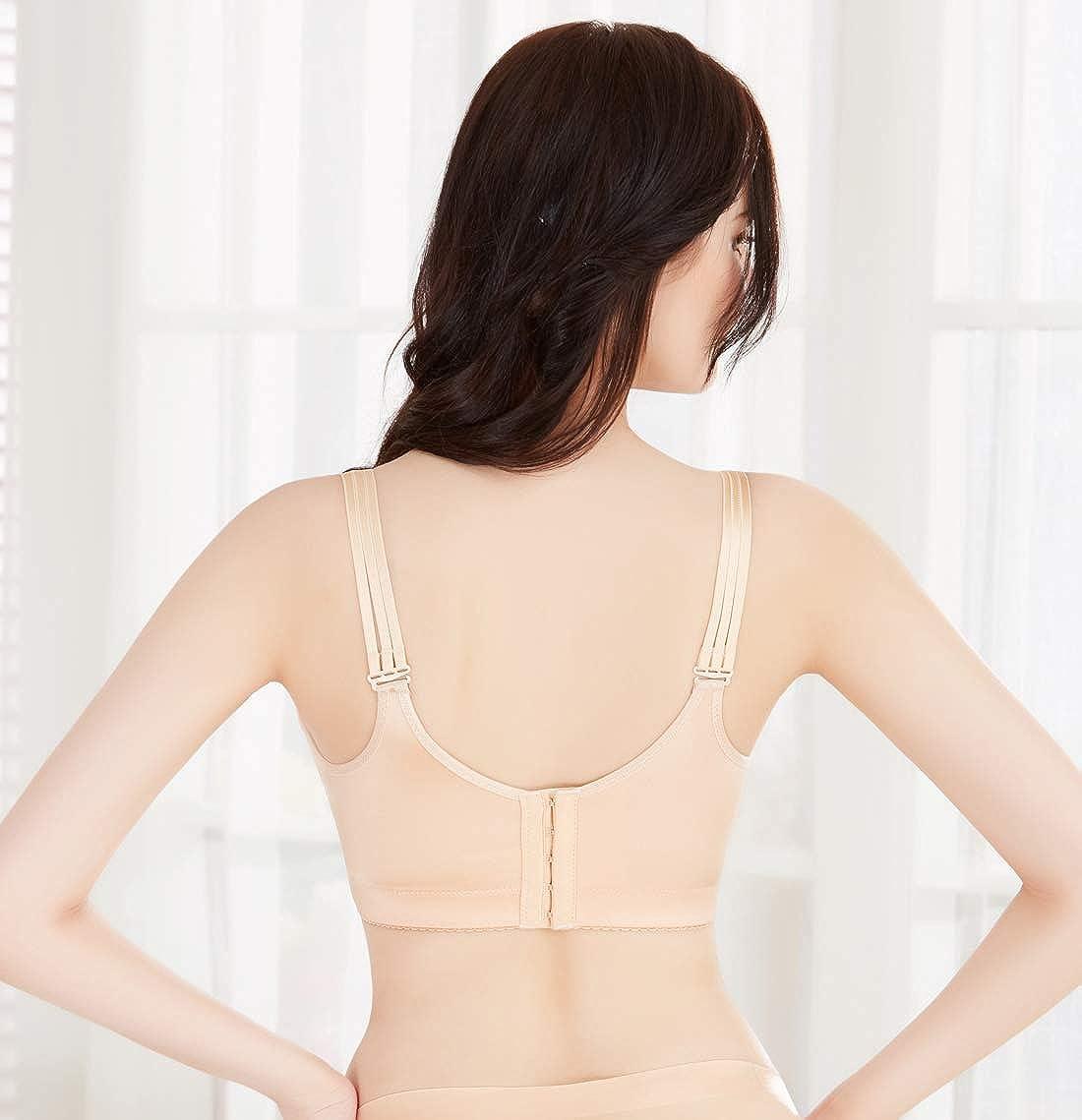 8e7dd869c4 DOOSINKI Women Wire-Free Plus Minimizer Bras Push Up Drawstring Bras with  Extender  Amazon.ca  Clothing   Accessories