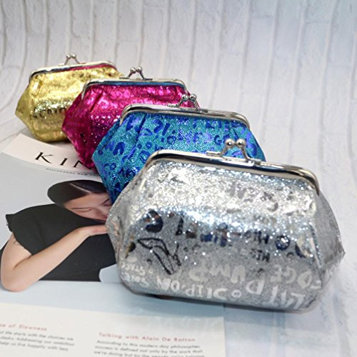 Wallet Laser Purse Reflector Coin Lady Silver Clearance Bag Deals Bag Coin TOOPOOT Women wwvSq