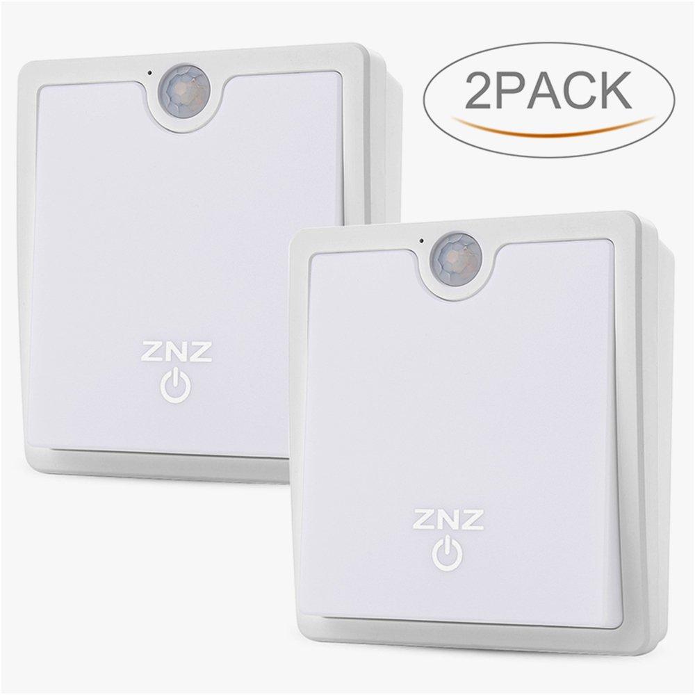 魅力の モーションセンサーナイトライトLEDランプ調光機能付き夜ライト ZNZ-NL2017003 ZNZ-NL2017003 Pack Battery-daylight-2 Pack Battery-daylight-2 B074WB9JDL, くらし百科 ゴン太:ec403f41 --- trainersnit-com.access.secure-ssl-servers.info