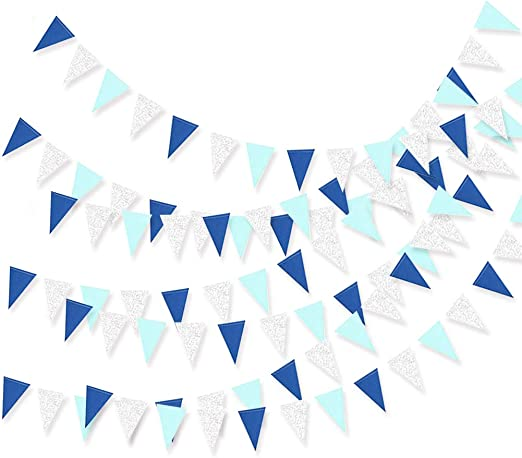 IT/'S A BOY IT/'S A GIRL BABY SHOWER CHRISTENING BUNTING NURSERY TWINS BANNER