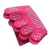 Women Yoga Five Toe Socks Non Slip Skid Low Cut