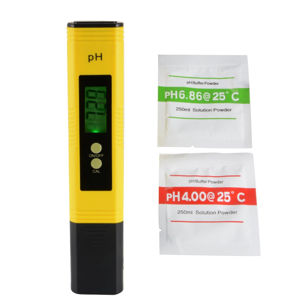 XCSOURCE Ph Meter, Accuracy Water Quality Monitor Pen Style Portable Tester PH 0-14.0 for Hydroponics, Aquariums, Swimming Pools BI718 3579773031