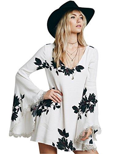 Buy bell sleeve dress plus size - 8