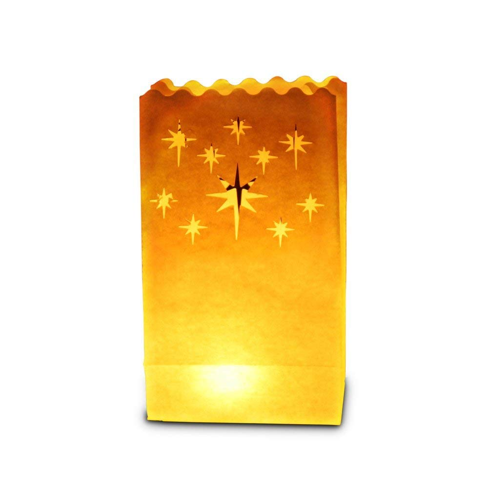 Candle Bags - Candle Luminary Bags (Pack of 30) - Night Star Design Sky Lanterns Ltd.