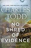 Image of No Shred of Evidence: An Inspector Ian Rutledge Mystery (Inspector Ian Rutledge Mysteries)