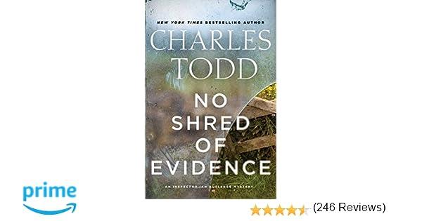 No Shred of Evidence: An Inspector Ian Rutledge Mystery (Inspector ...