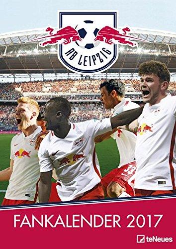 RB Leipzig 2017 - A3 Wandkalender, Fankalender, Fußballkalender, Sportkalender - 29,7 x 42 cm