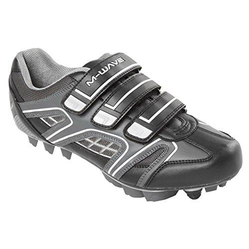 M-Wave X2 Mountain Bike Shoe, Black, 43