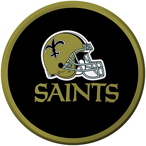 (Creative Converting 8 Count New Orleans Saints Paper Dessert Plates)