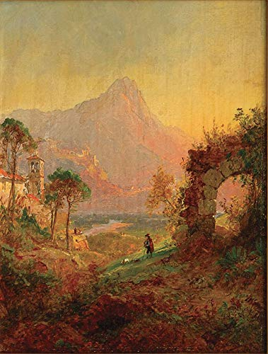 Jasper Francis Cropsey Villa d-Este, Trivoli 1877 Private Collection 30