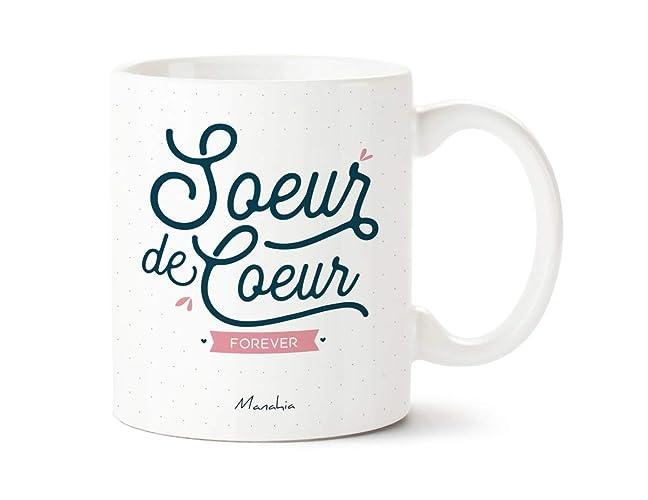 Mug Soeur De Coeur Forever Mug Pour Copine Cadeau Copine