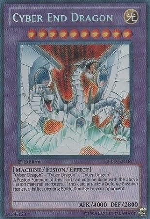 x3 Light End Dragon Ultra Rare Unlimited Edition LCGX-EN189