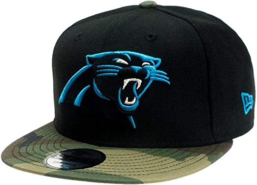 New Era Gorra Snapback Carolina Panthers - Gorra NFL en una Talla ...