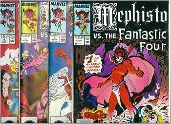 1e8ce2fccc Mephisto vs. #1-#4 set / X-Men, Avengers, FF, Marvel Comics: Amazon.com:  Books